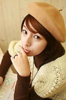 Women's Soft Wool Beret for 2015 autumn and winter