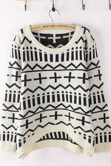 Fashion Bottoming Loose Women Sweater