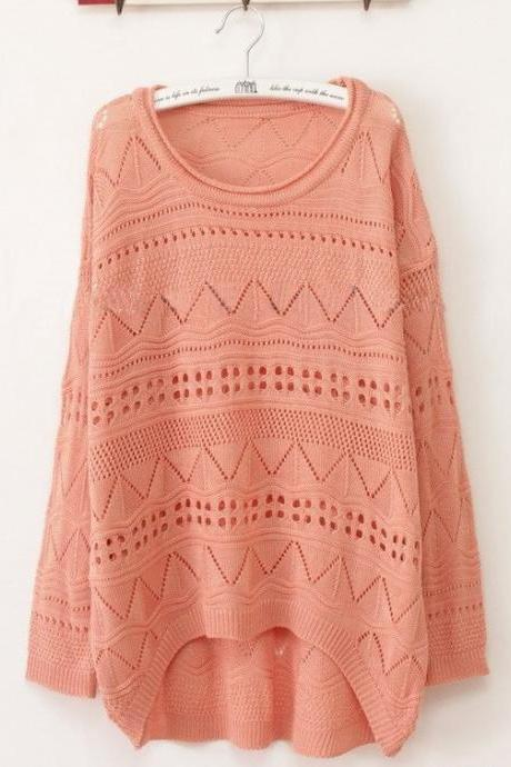 Fashion Women's Embellished Knit Sweater
