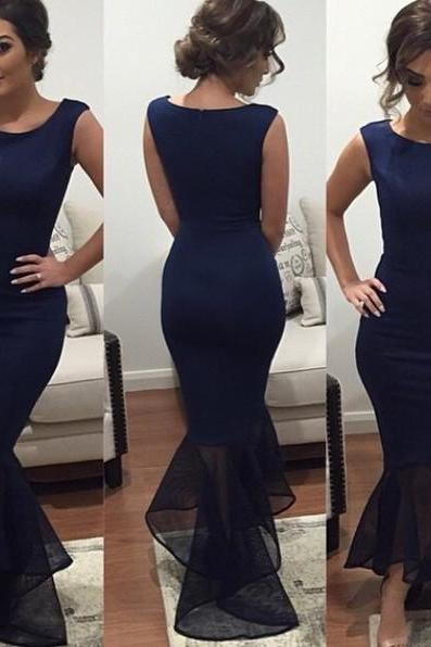 NEW Womens Midi Dress Ball Gown Prom Party Formal Celeb Blue Evening Maxi Dress