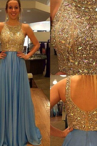 Beautiful Ball Gown Sweetheart Prom Dresses with Beading, Prom Dresses, Prom Dress 2015, Prom Gown