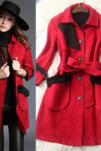 Fashion big pocket coat 1680084
