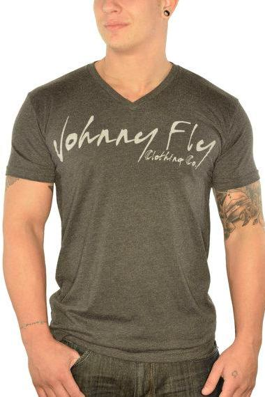 Mens Johnny Fly Signature V Neck