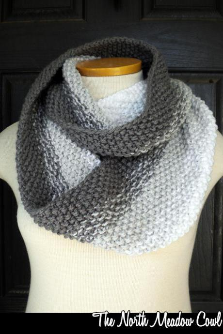 The North Meadow Cowl Knitting Pattern