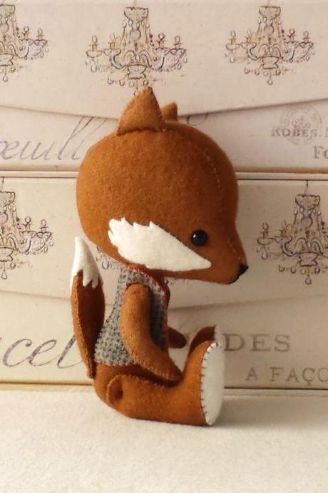 Fenwick the Fox pdf Pattern