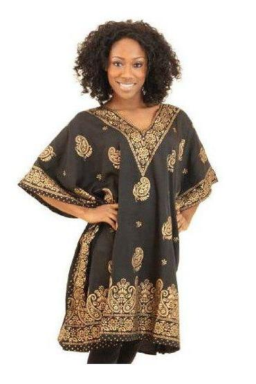 Bobamgui - Gorgeous costumisable dashiki african tunic dress