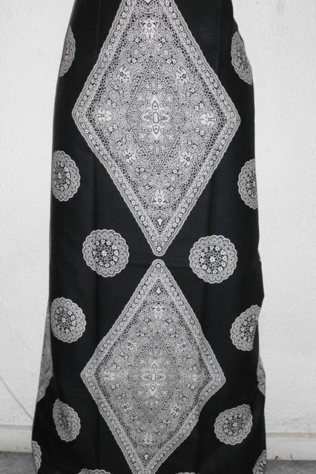 Kordié - Ready to ship - Gorgeous costumisable dashiki african maxi skirt