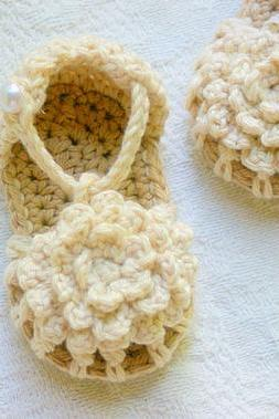 Baby Booties Crochet Pattern Simply Summer Sandals Pattern number 101