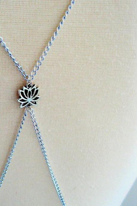 Silver Serenity Body Chain Body Jewellery