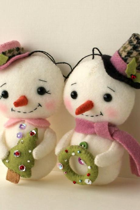 Snow Folk pdf Pattern