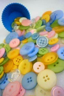1 Kilo WHOLESALE Easter Egg Buttons