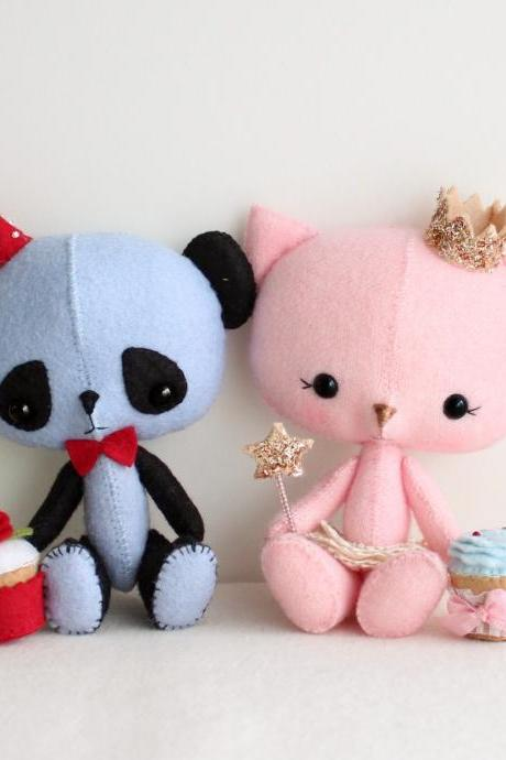 The Princess and the Panda pdf Pattern