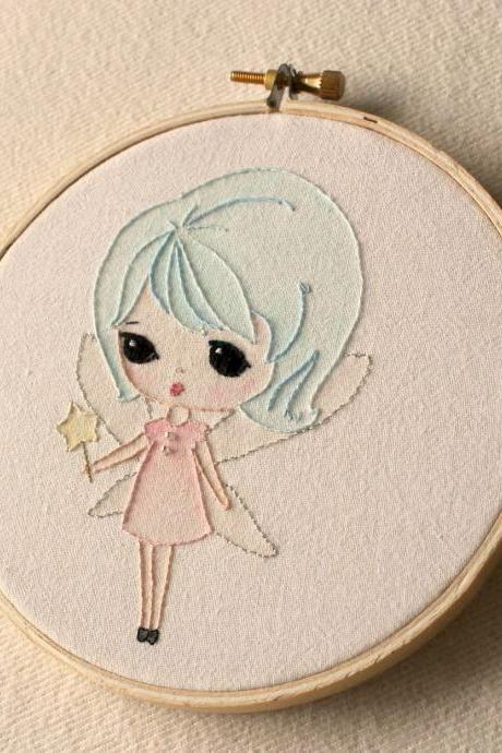 Embroidered Fairy pdf Pattern