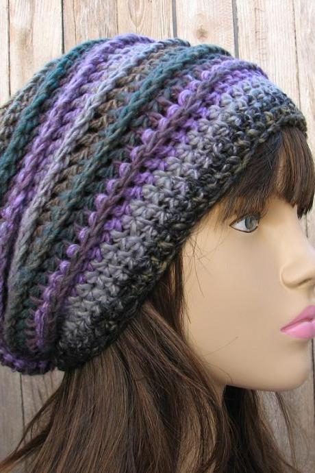 CROCHET PATTERN!!! Crochet Hat - Slouchy Hat, Crochet Pattern PDF,Easy, Great for Beginners, Pattern No. 33