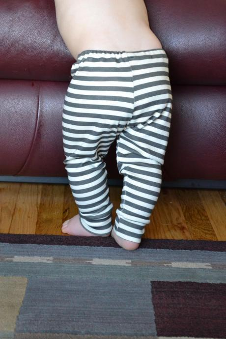 Organic Cotton Knit Baby Leggings- You Pick Print
