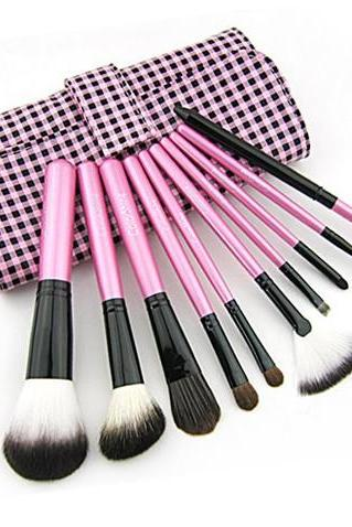 Colorshine 10 cosmetic brush set professional make-up tools makeup brush set
