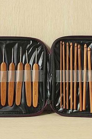 20pcs crochet and knitting hook set