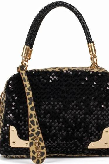 Cool Shiny Leopard Bag