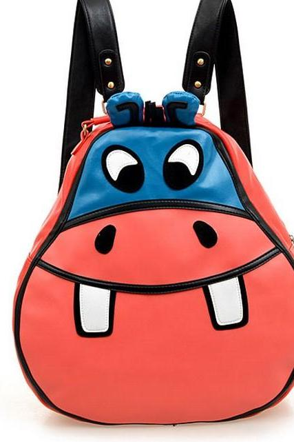 Hippo shoulder bag student bags