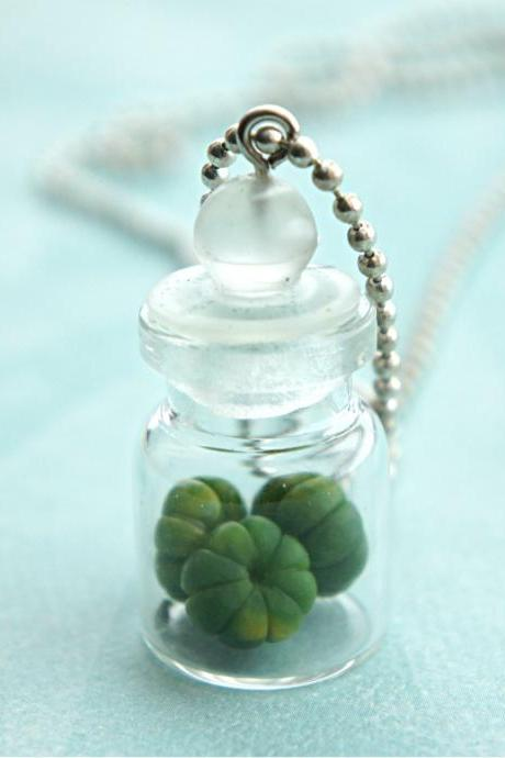 pumpkin in a jar necklace