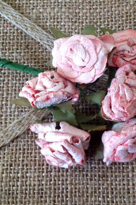 Baby Pink Cabbage Roses