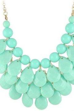 Statement Jewelry, Chunky Necklace, Bubble Necklace