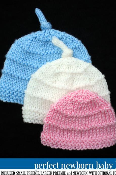 Perfect Newborn Baby Hat Pattern