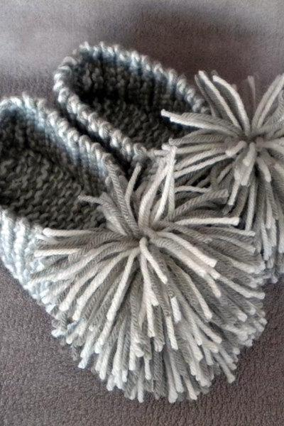 Quick & Easy Slipper Knitting Pattern