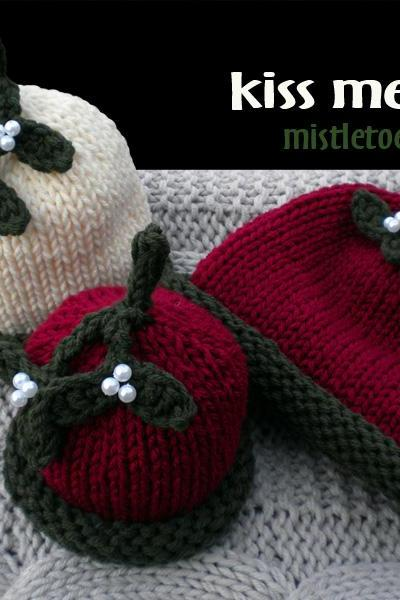 Kiss Me Please Hat Knitting Pattern